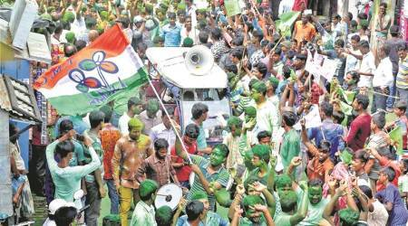 TMC sweeps Bengal civic polls with 140 seats, BJP 2nd with6