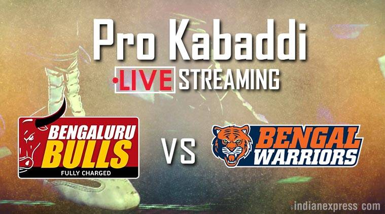 Pro Kabaddi 2017, Bengaluru Bulls vs Bengal Warriors Live streaming, PKL season 5, Kabaddi news, Indian Express