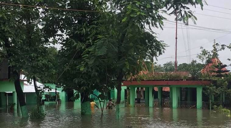 Bihar Flood, West Bengal Flood, Kishanganj Flood, Purnia Flood, Uttar Dinajpur Flood, Mahananda River, National Highway 31, India News, Latest India News, Indian Express, Indian Express News