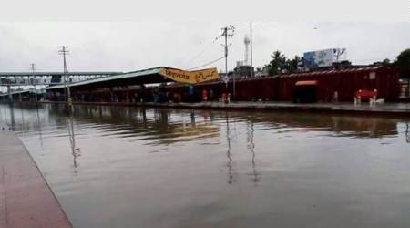 Floods disrupt train services in northeastern region
