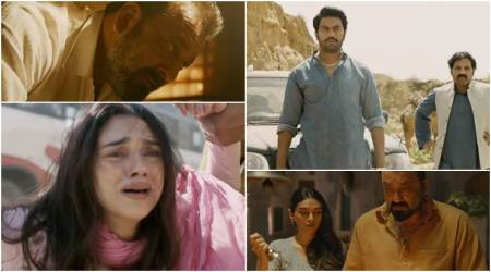 Bhoomi trailer: Sanjay Dutt fights to protect the integrity of his daughter Aditi Rao Hydari. Watch video