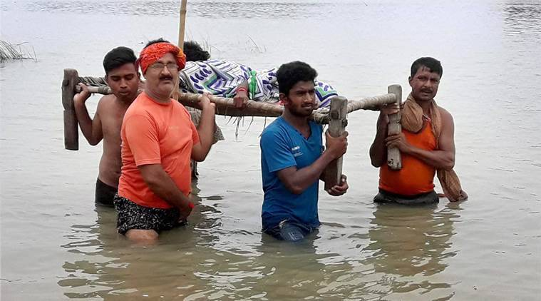 Image result for Bihar: At Least 253 people died in flood