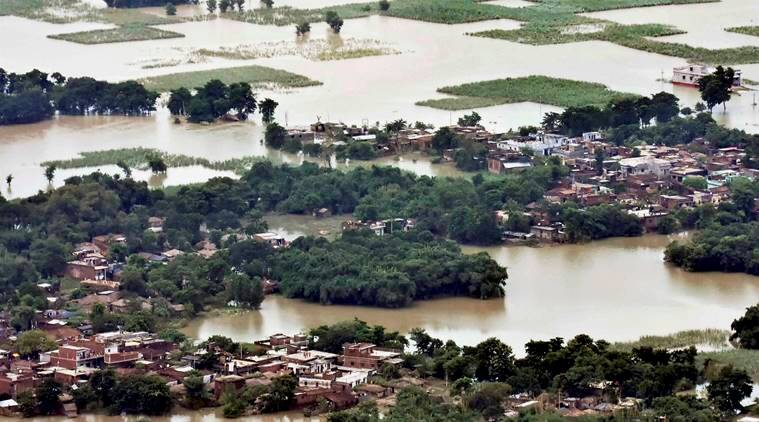 bihar, bihar floods, bihar, bihar flood, bihar death toll, bihar condition, nitish kumar, indian express news, india news