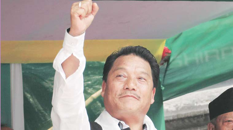Binay Tamag, Bimal Gurung, darjeeling unrest, darjeeling protest, GJM agitation, madan tamang, indian express news, india news