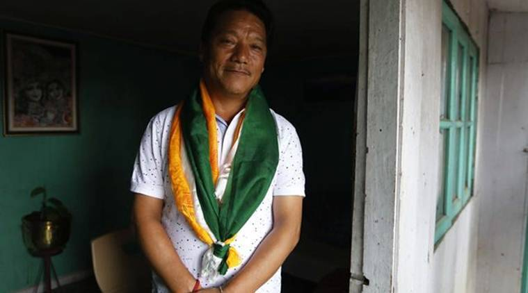 Darjeeling Blast, GJM Letter to Rajnath Singh, Gorkha Janmukti Morcha, Gorkhaland Agitation, Bimal Gurung, GJM chief Bimal Gurung,  Home Minister Rajnath Singh,  National Investigative Agency (NIA), West Bengal news, India News, Indian Express News