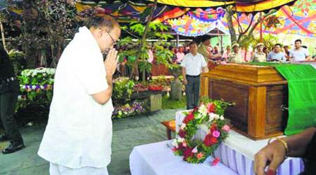 Amid 'NSCN(IM) threats', Keishing buried in Imphal