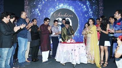 Sachin Pilgaonkar's 60th birthday celebration was a star-studded affair