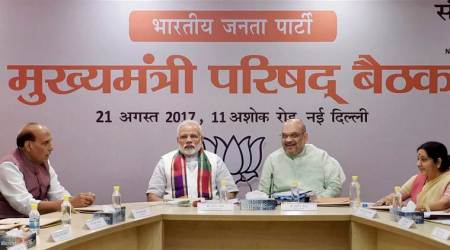 PM Modi asks BJP CMs to work for 'New India' in 'mission mode'