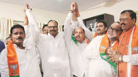 Days after resigning as MLCs, two SP leaders, a BSP leader joinBJP