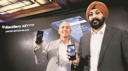 BlackBerry KEYone smartphone comes  with a global price tag, made in India stamp