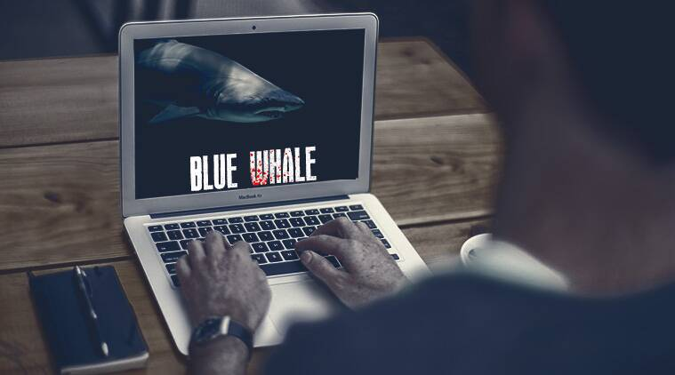 blue whale challenge, Delhi blue whale, Blue whale game, Blue whale deaths India, blue whale symptoms, children counselling, India news, Indian Express