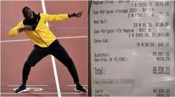 usain bolt, usain bolt partying, usain bolt bar, usain bolt final race, usain bolt athletics, sports news, indian express