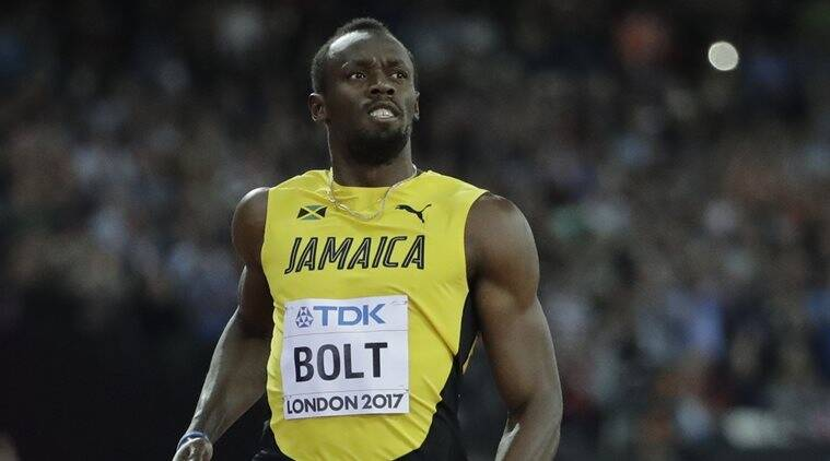 Usain Bolt, men's 4x100 metres relay, World Championships, sports news, Indian Express