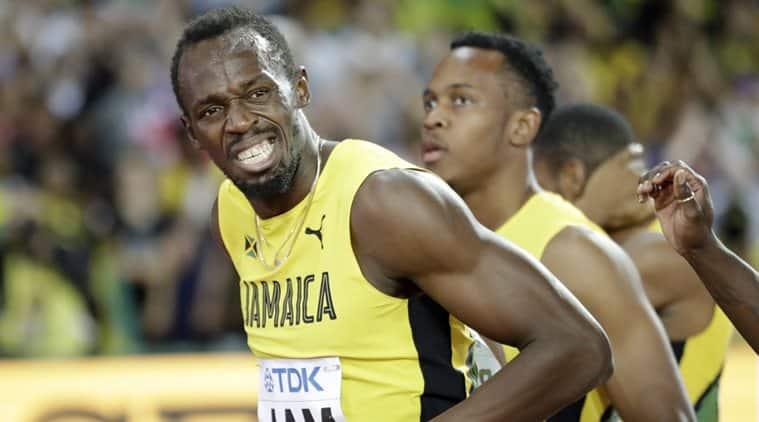 Usain Bolt, Gatlin, World Championships, sports news, Indian Express