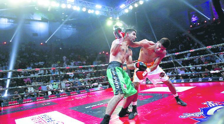 Super Boxing League, Haryana Warriors, Maratha Yoddhas, Andy Chuaua, Pramod Kumar, Neeraj Goyat, indian express, sports news