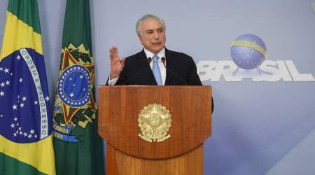 Brazil President Michel Temer wins Congressional votes to block graft charge