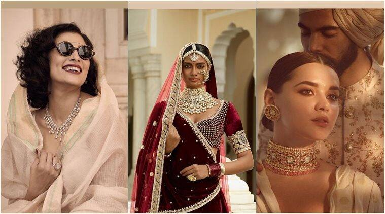 Bridal jewellery, bridal look, monotonous golds, existing traditional styles, antique piece, big bridal sets, indian express, indian express news