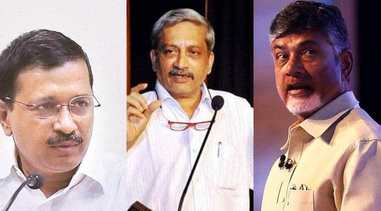 Bawana bypoll, Nandyal byelection, Goa bypoll, Manohar Parikkar, Arvind Kejriwal, Ram Chander, Vishwajit Rane, Bhuma Brahmananda Reddy, TDP, YSR Congress, indian express
