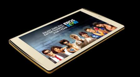 Micromax, Eros Now, Micromax - Eros Now partnership, Micromax Canvas Plex, co-created tablet, Micromax Canvas Plex features, Micromax Canvas Plex price, Micromax Canvas Plex launch date, free Eros Now subscription, pre-loaded features, Micromax tablet