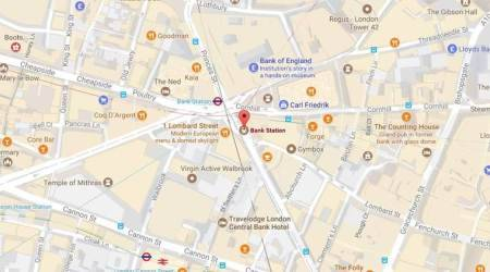 London firefighters investigating alert at central London station