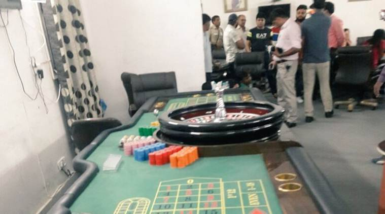 Illegal casino busted: 5 policemen suspended for 'negligence'