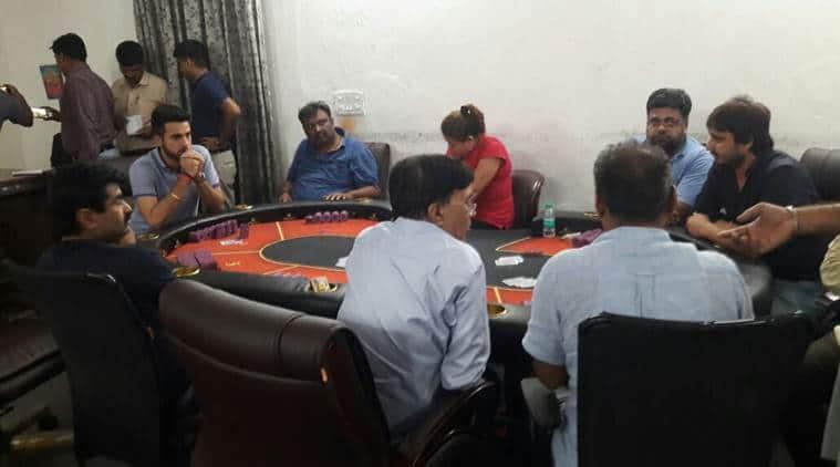 delhi casino, delhi casino raid, delhi police, delhi police raid, south delhi raid, south delhi casino,