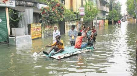 West Bengal floods: 32 people dead, 14 lakh affected; situation still'grim'