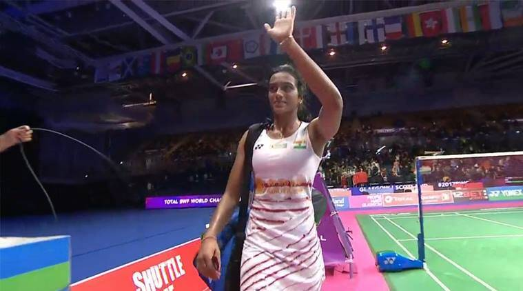 Image result for Badminton World Championships: PV Sindhu defeats Chinese Chen Yu Fei, enters into final