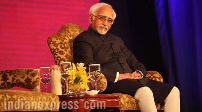 BJP Slams Hamid Ansari