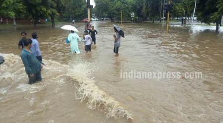 Heavy rains throws life out of gear in Chandigarh