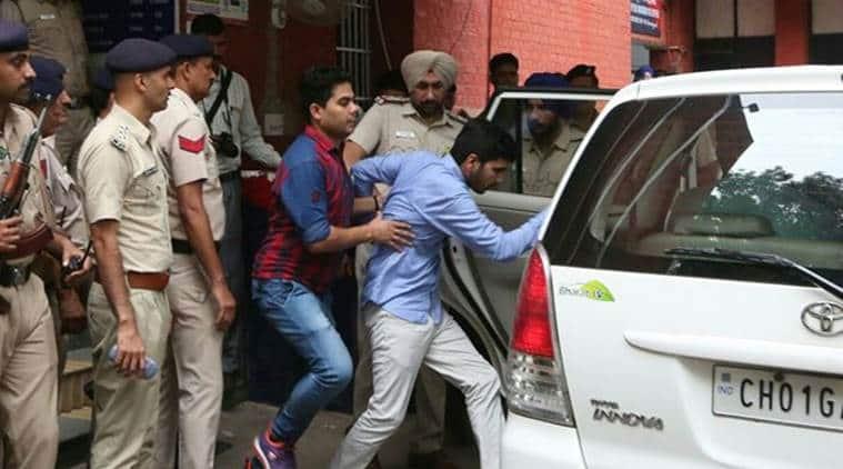 Chandigarh stalking case, Vika Barala, BJP Hyaryana IAS Daughter, varnika, Indian Express, India news