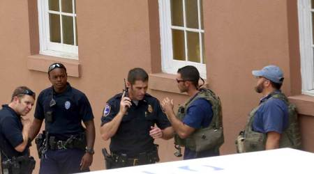 Charleston shooting LIVE: Gunman shot and wounded, victim dead