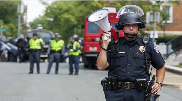 Charlottesville violence, Charlottesville violence Virginia, Donald Trump, Virginia Violence, US-North Korea, USA News, World News, Indian Express News