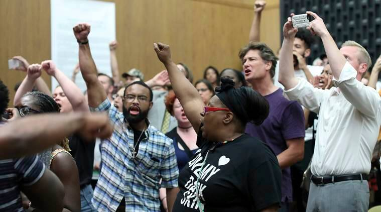 Charlottesville violence, Charlottesville  protest, Charlottesville city council meeting, white supremacy, neo nazis,