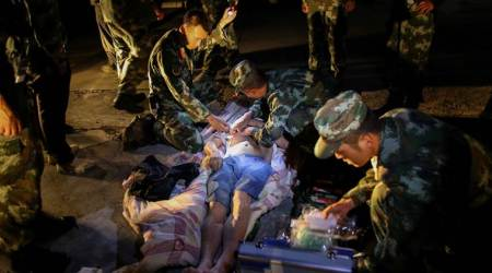 China earthquake: Death toll touches 13, survivor says it felt like a 'heavy-duty truck roaring past'