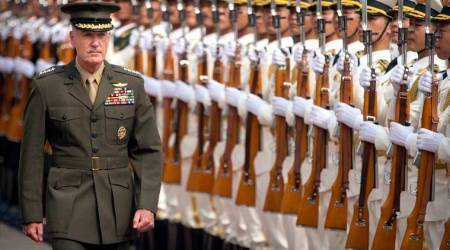 US and China have to work through 'difficult issues': Top US militaryofficer