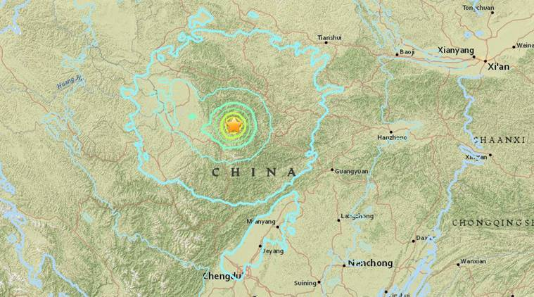 China earthquake: Seven dead, 100 feared trapped as quake of magnitude 6.5 strikes Sichuan Province