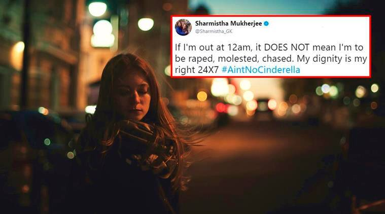 women safety, aintnocinderella, twitter hashtag cinderella, women safety aint no cinderella, varnika kundu, varnika kundu stalking, chandigarh stalking case, chandigarh bullying varnika kundu, indian express, indian express news