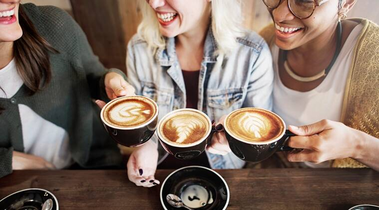 Drinking coffee, antioxidants, drinking more than four cups of coffee, anti-inflammatory, beneficial properties of coffee, Indian express, Indian express news