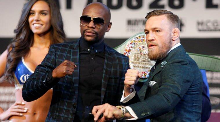 McGregor, Floyd Mayweather, UFC President Dana, sports news, Indian Express
