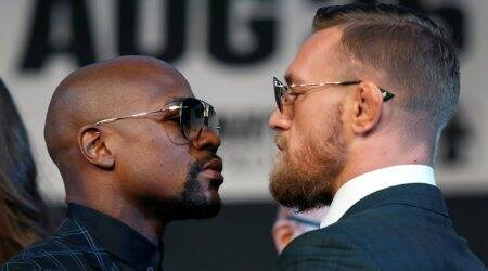 Conor McGregor and Floyd Mayweather trade praise not profanities