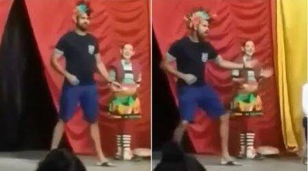 Diego Costa takes part in street circus in Brazil; watch video
