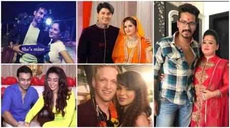 Television celebrities who are all set to tie the knot