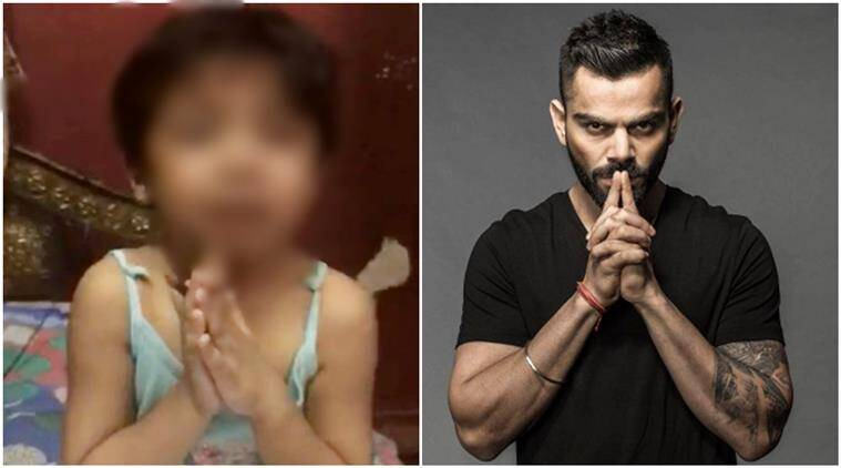 Virat Kohli and Yuvaraj Singh serious on this girl's Viral crying video