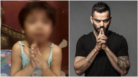 Remember the crying kid's video that Virat Kohli shared? This is who she really is