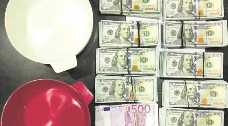 Inside casseroles, hidden under upma: Foreign currency worth  Rs 1.3 crore seized at Puneairport