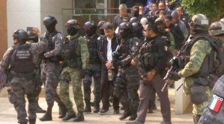 Mexico drug lord Damaso Lopez, son indicted on US drug charges