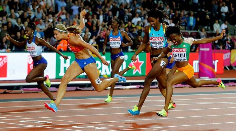 Dafne Schippers, World Championships, Indian Express