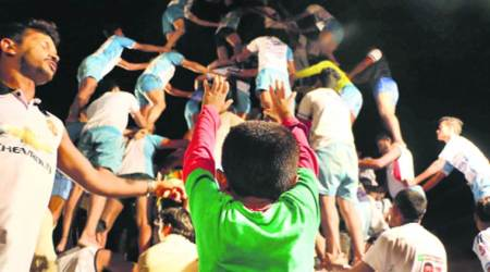 Ahead of Dahi Handi celebrations, a top team scales up practice