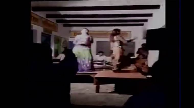indecent dance, mirzapur, mirzapur dance in school, mirzapur obscene dance, uttar pradesh